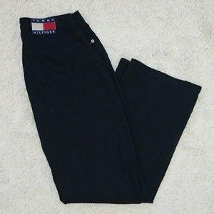 Vintage Tommy Hilfiger black straight leg pants 28